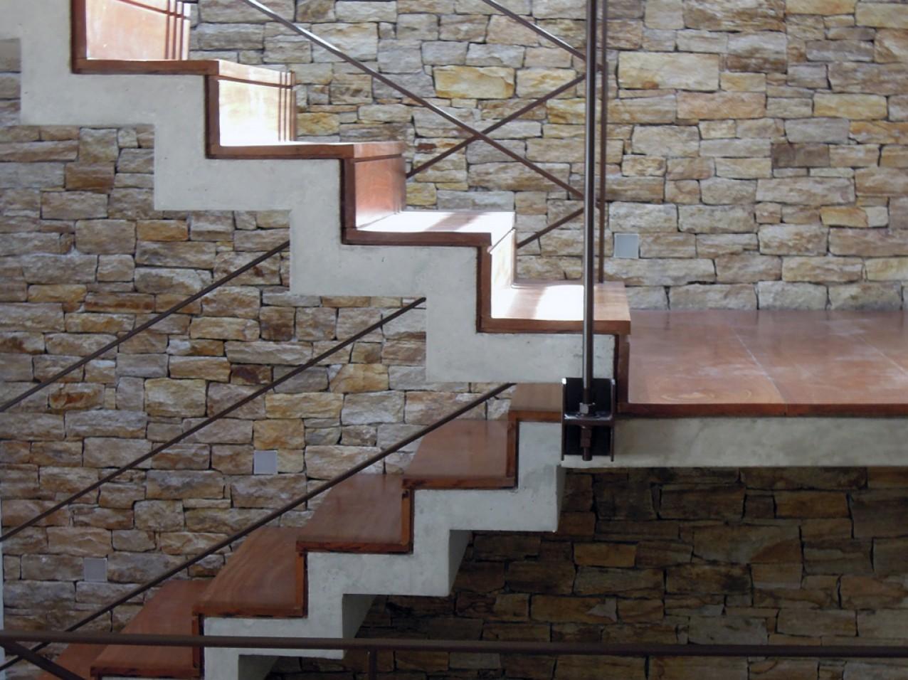 Obra residencial Morumbi V - Escadaria