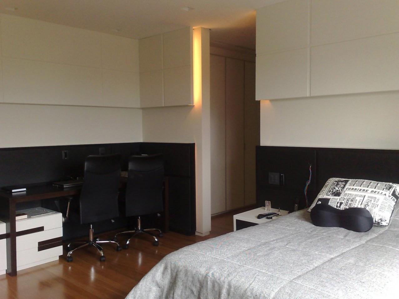 Obra residencial Cidade Jardim I - Dormitorio