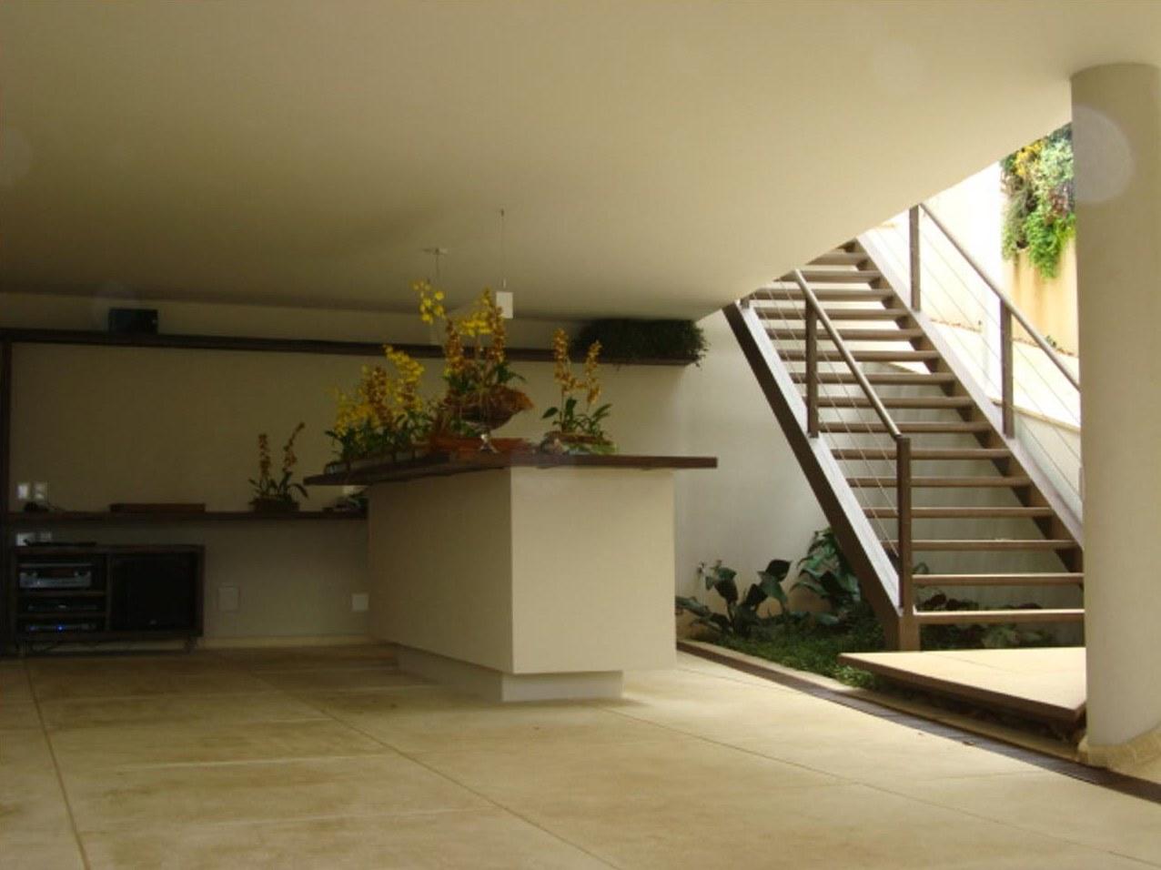 Obra residencial Alphaville - Garagem