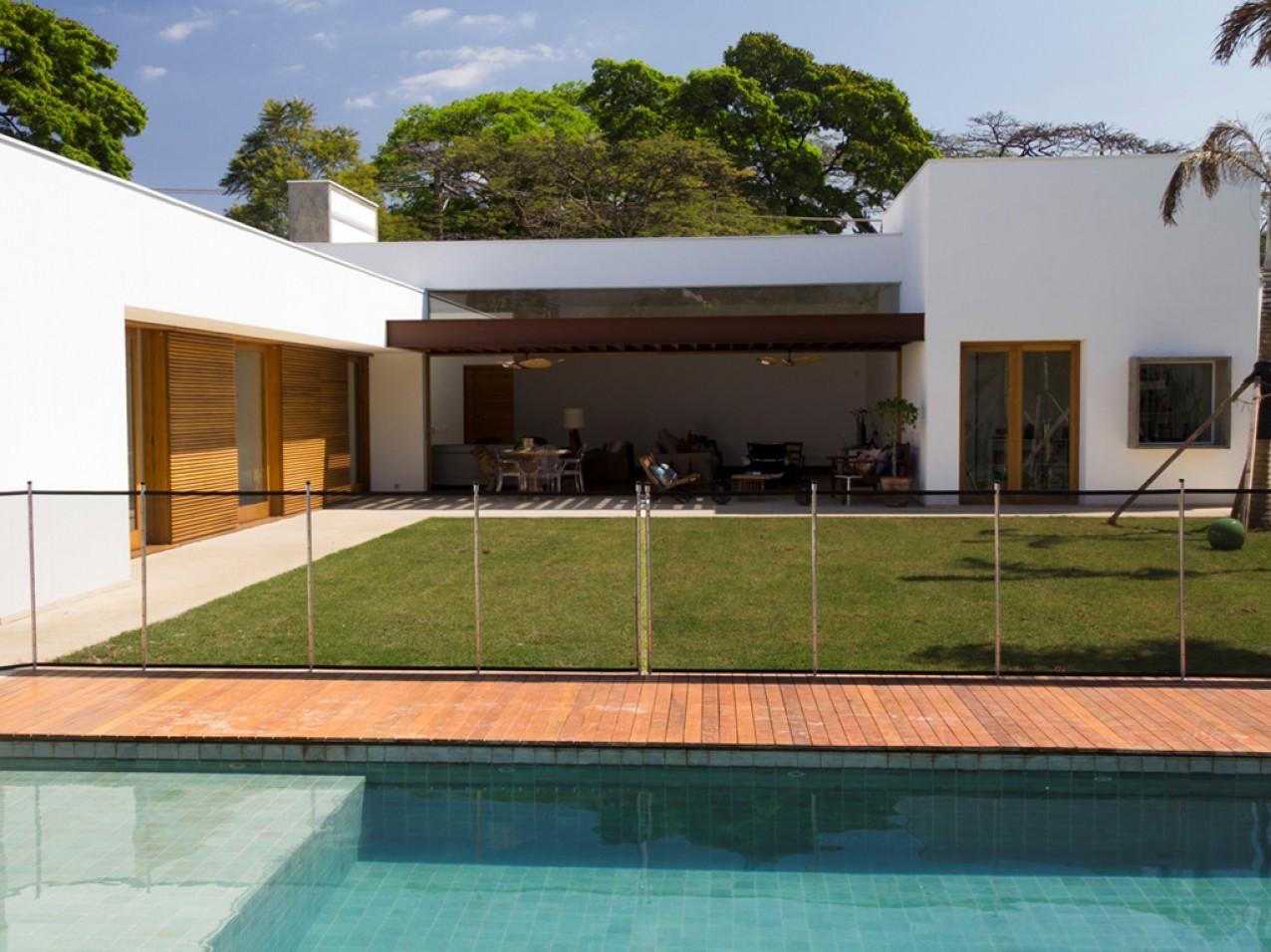 Obra residencial Pinheiros V - Quintal
