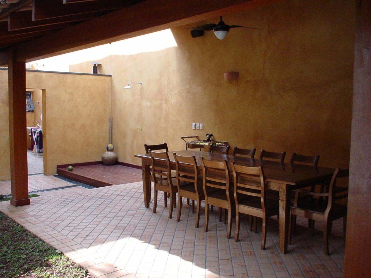 Obra residencial Pinheiros II - Salão de jantar