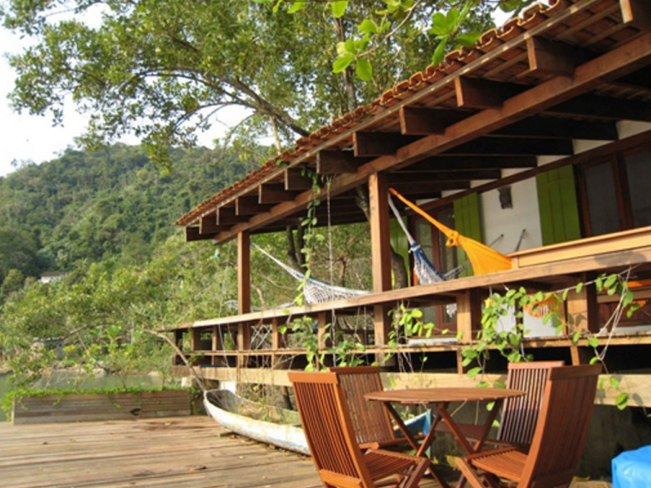 Obra residencial Paraty I - Varanda