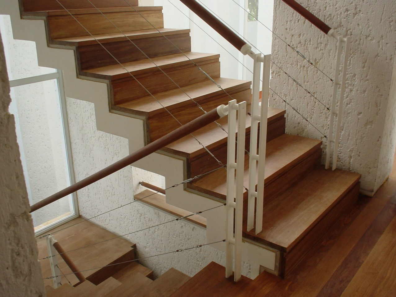Obra residencial Pinheiros I - Escadaria