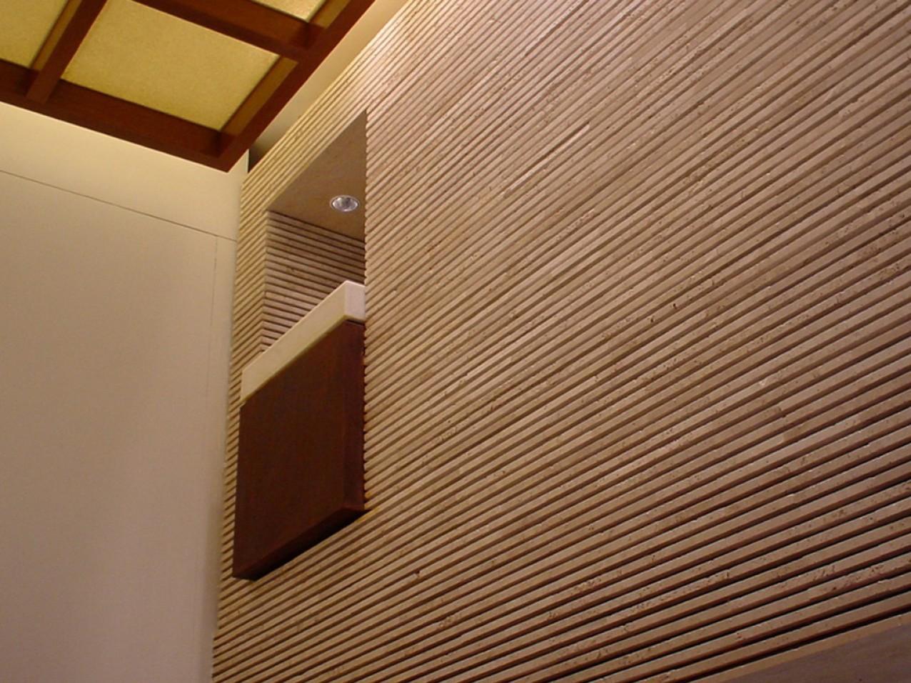 Obra comercial pedaco por pedaco - Detalhe parede