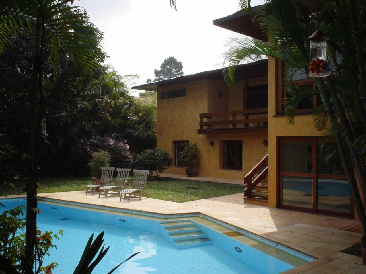 Obra residencial Pinheiros II - Quintal