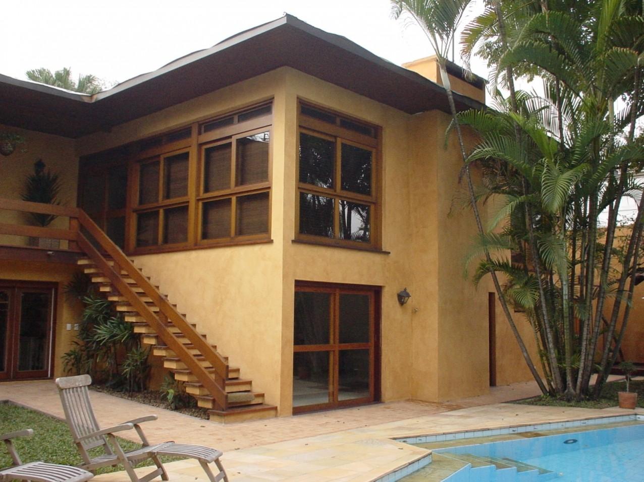 Obra residencial Pinheiros II - Fachada