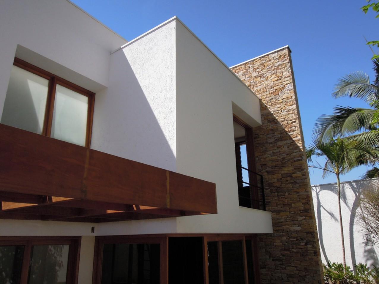 Obra residencial Morumbi V - Fachada interior