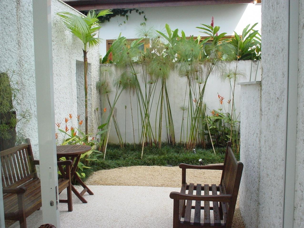 Obra residencial Riviera Sao Lourenco - Varanda