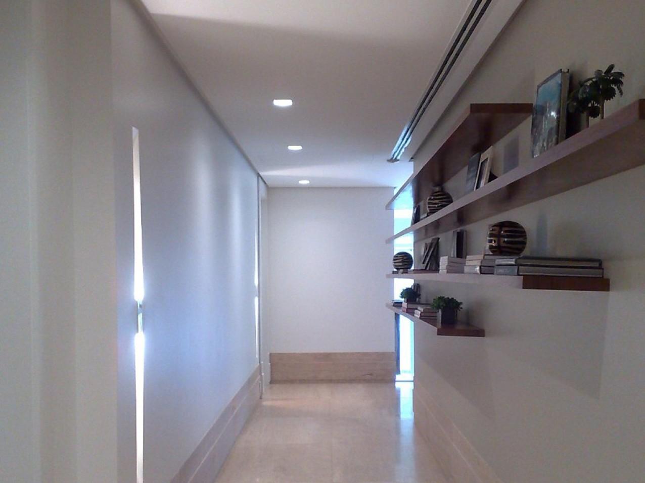 Obra residencial Cidade Jardim I - Corredor