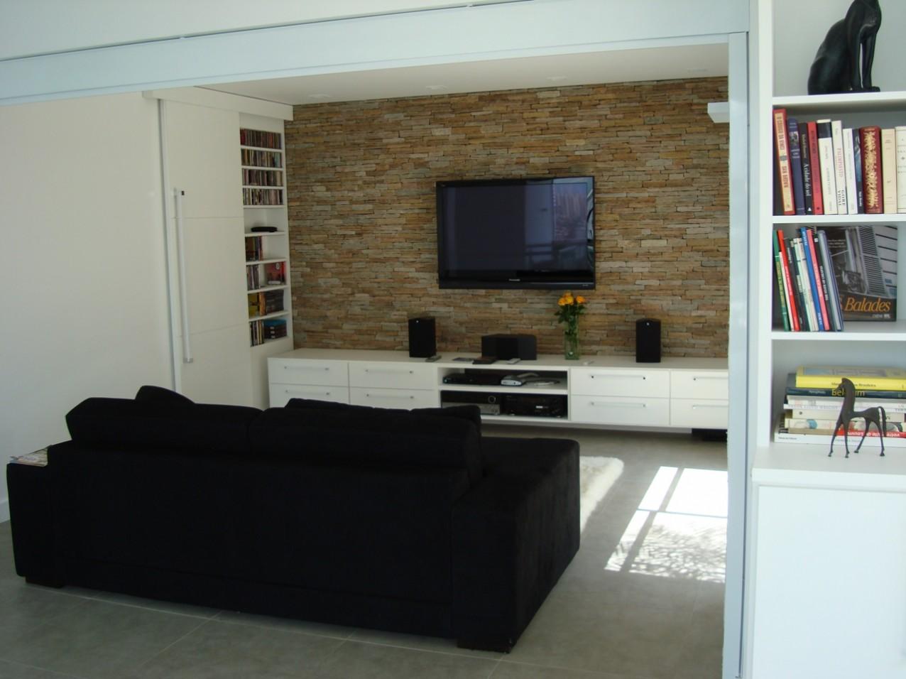 Obra residencial Real Parque III - Sala de estar