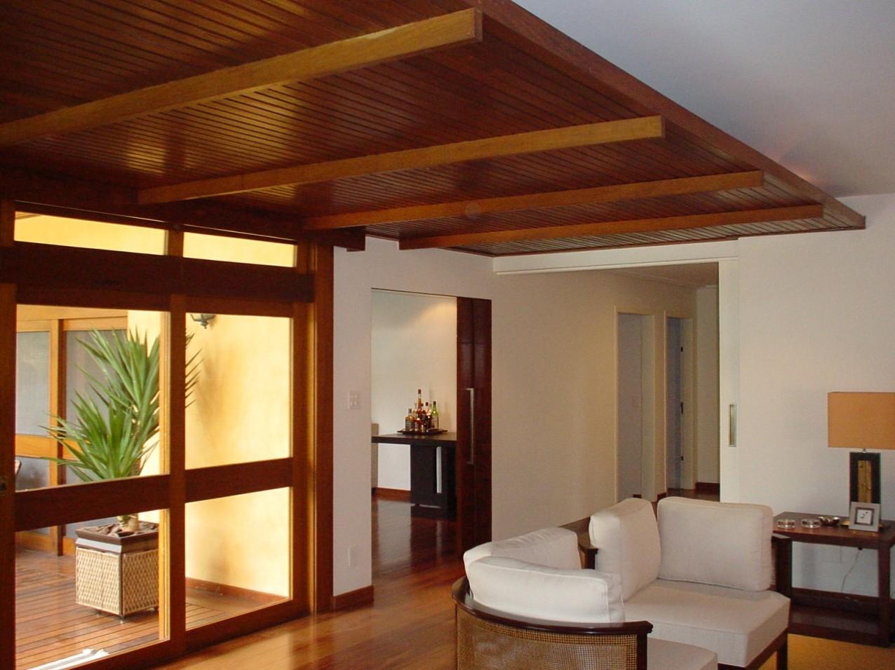Obra residencial Pinheiros II - Sala de estar
